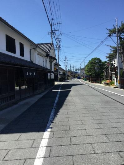 須坂街並み
