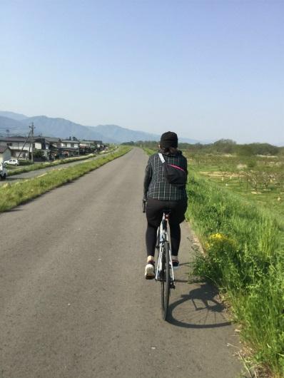 須坂村山堤防