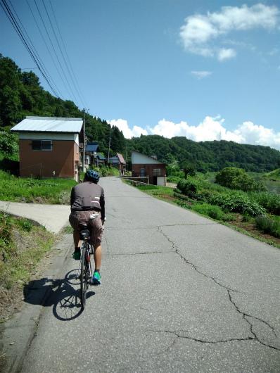 戸狩から栄村方面飯山線に沿って