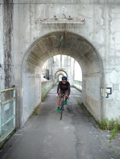 ロードバイクで西大滝ダム