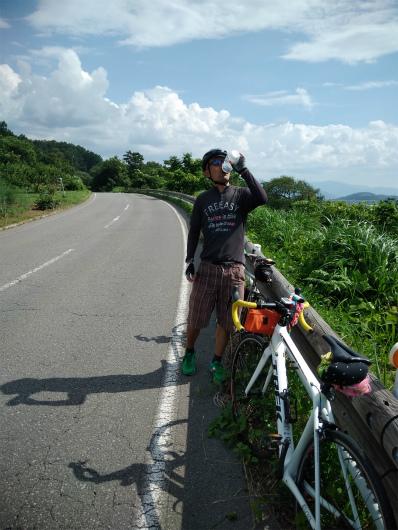 見晴らし街道サイクリング