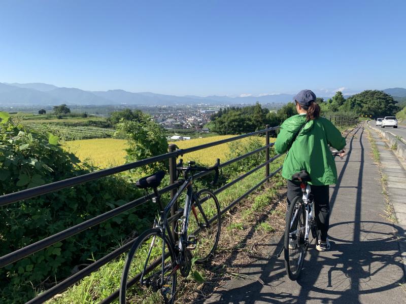 善光寺サイクリング豊野で