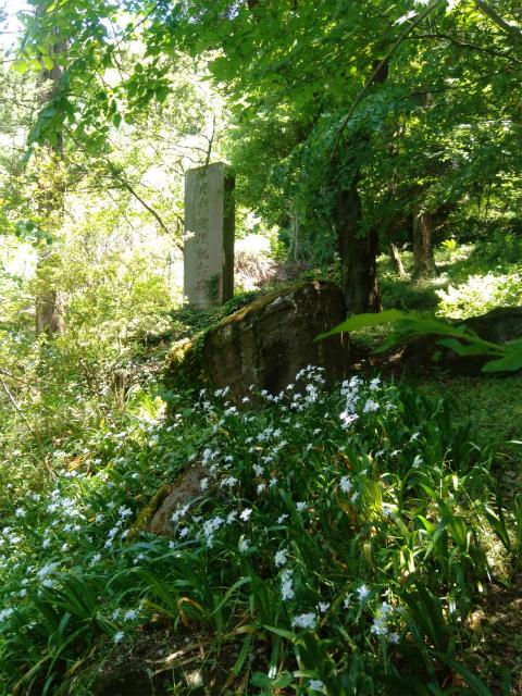 岩松院の日露戦役記念碑