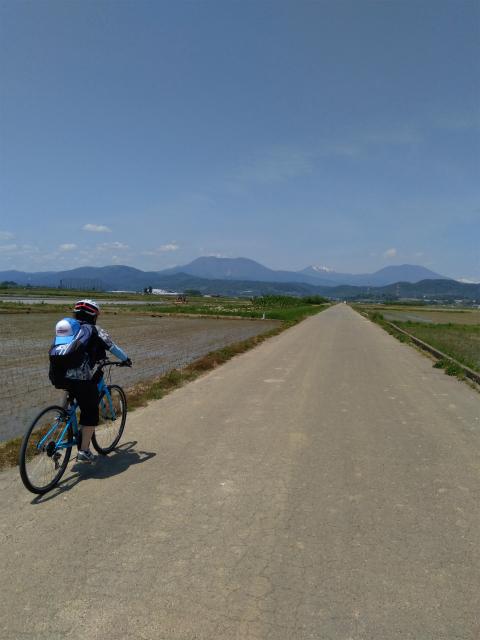 延徳田んぼと自転車