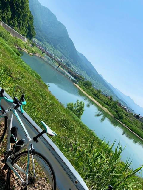 中野千曲川サイクリング