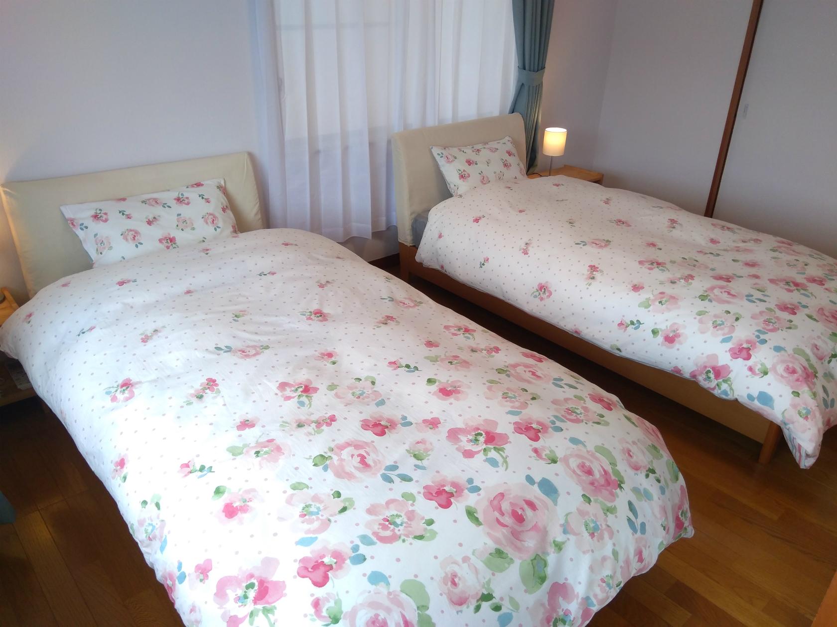 ゲストハウスmaaru 寝室