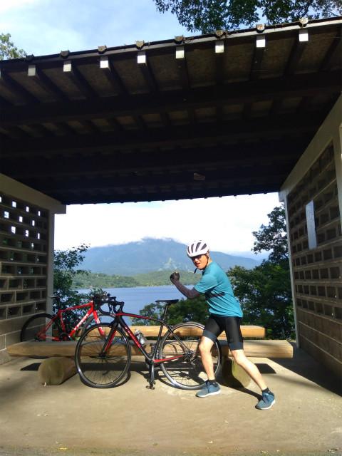 野尻湖1周サイクリング休憩ポイント