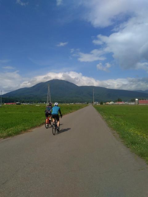 信濃町田園サイクリング