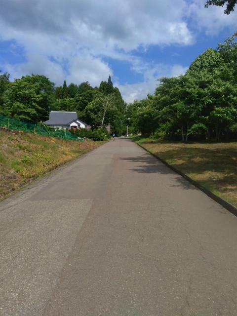信濃町サイクリング 坂