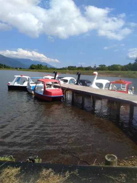 霊仙寺湖ボート