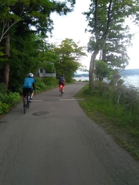 野尻湖サイクリング