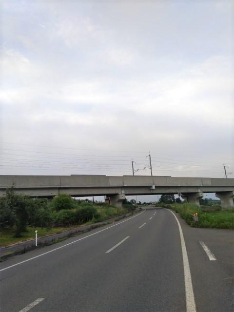 北陸新幹線中野市