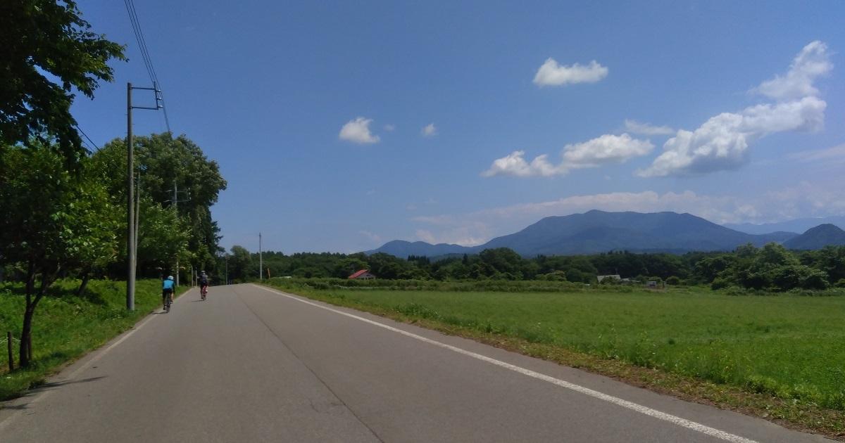 信濃町サイクリング