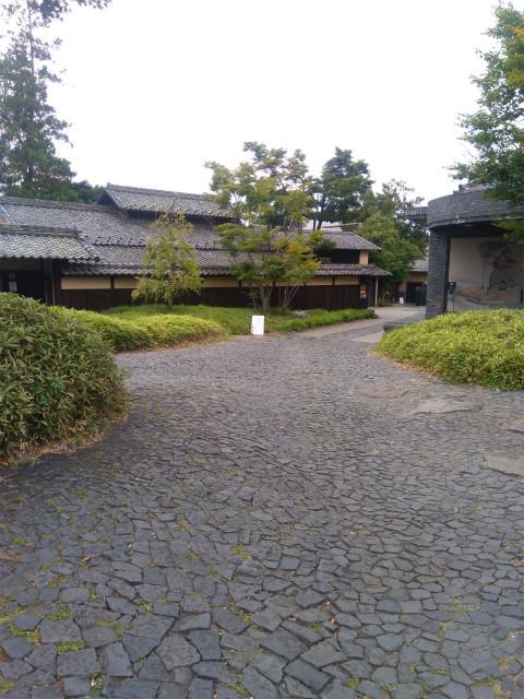 小布施堂工場前広場