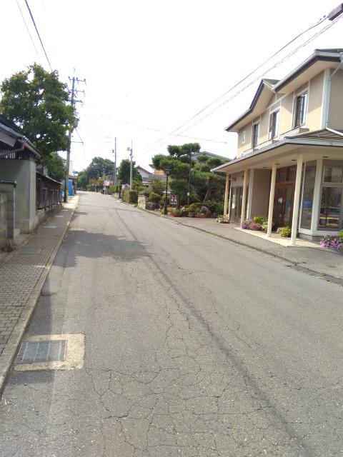 六川南信号からみた観音通り