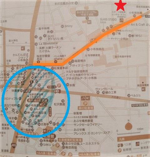 小布施地図