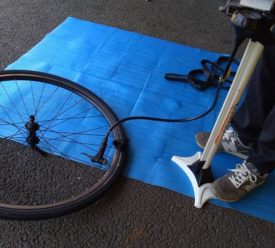 自転車メンテナンス教室