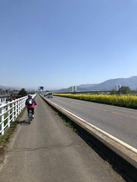 飯山サイクリング