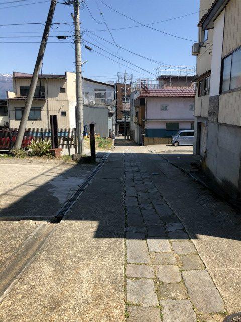 長野県初シュプールの坂