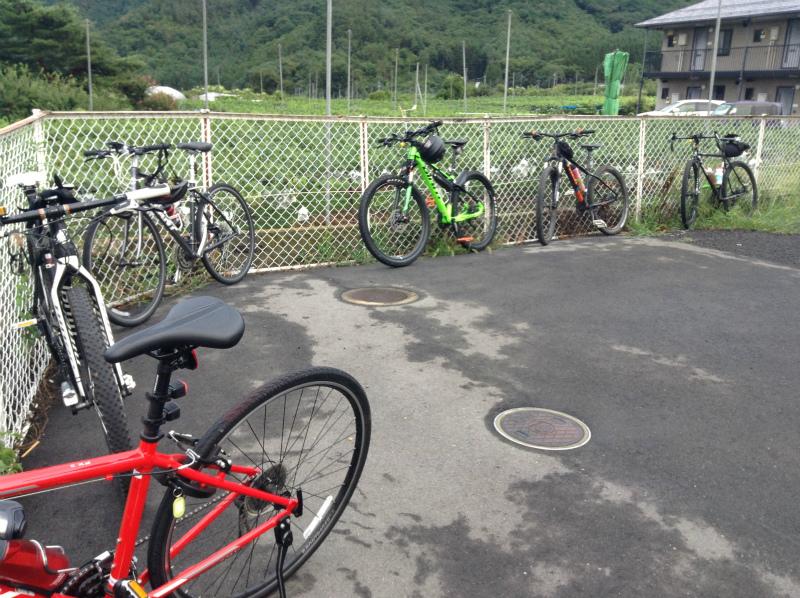 ロードバイク禁止