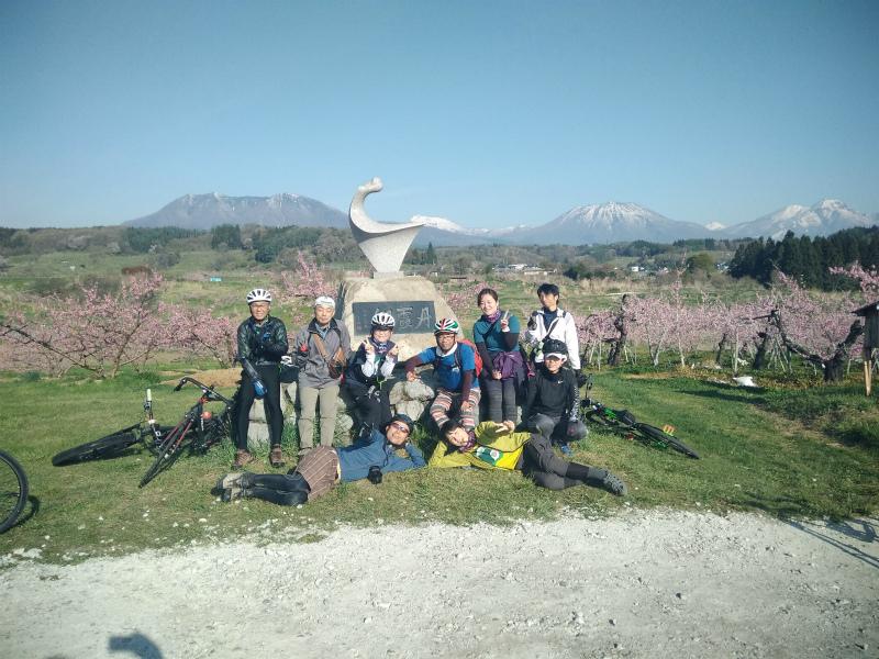 桃の花パラダイス 丹霞郷ライド