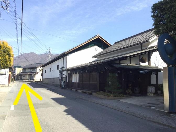 小布施駅からmaaruへの行き方 松葉屋本店