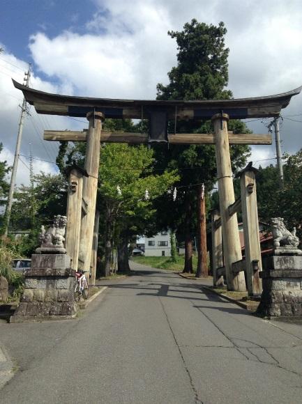 小菅神社 鳥居