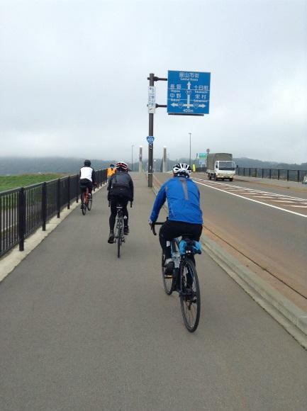 飯山巨木を巡るサイクリング 中央橋