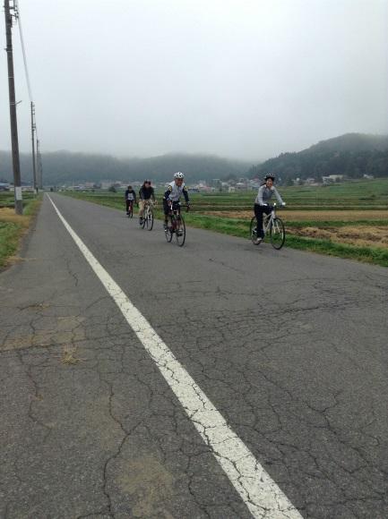 飯山巨木を巡るサイクリング 自由に乗る区間