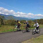 飯山巨木を巡るサイクリング2018