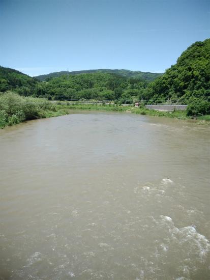 小牧橋から千曲川