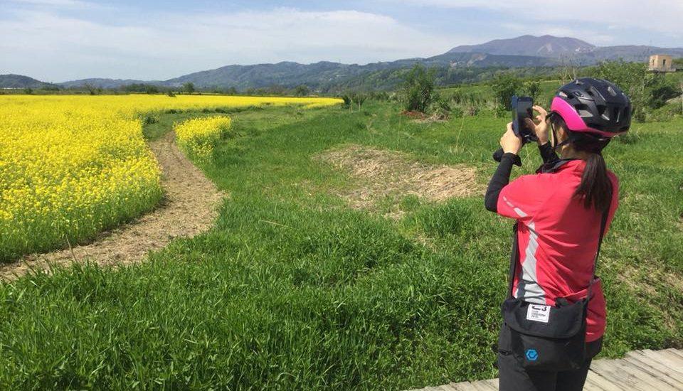 小布施から飯山へサイクリング
