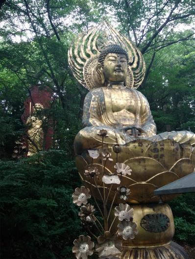 谷厳寺の仏像