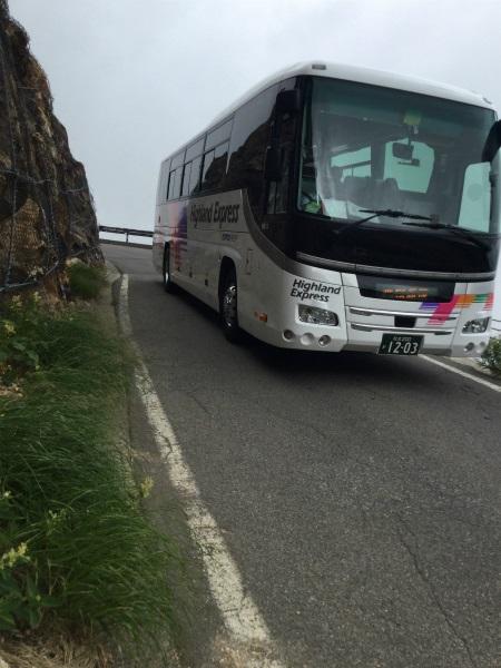 乗鞍 バス怖い