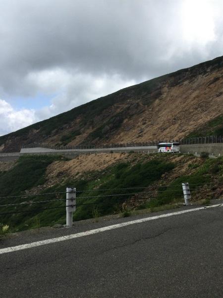 乗鞍 バスと山道