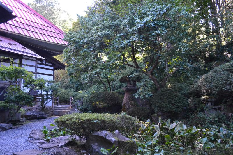 岩松院裏の池