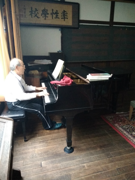 小布施民俗資料館ピアノ演奏