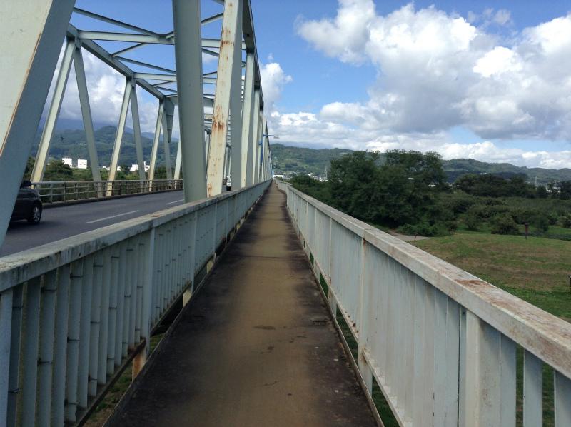 小布施橋歩道