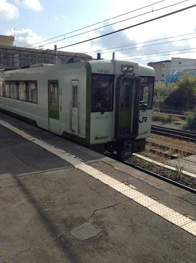 豊野駅のしなの鉄道