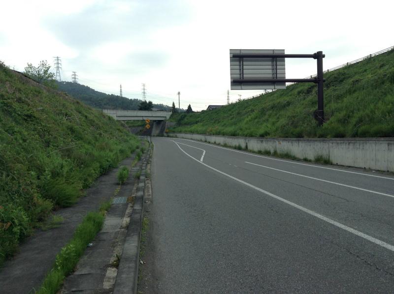 北信五岳道路 トンネル過ぎて1つ目の信号右折