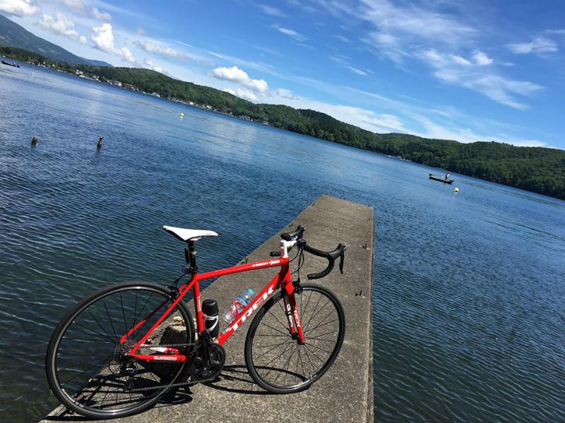 野尻湖一周サイクリング