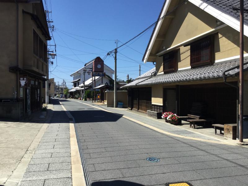 須坂銀座通り