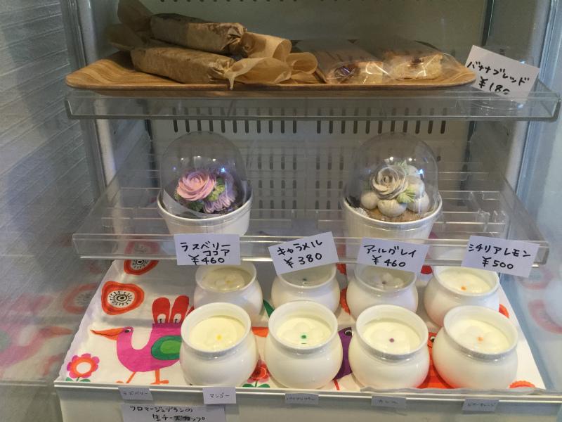 temo店内カップケーキ