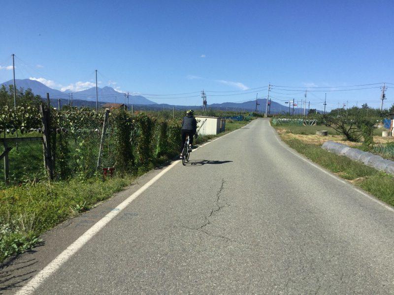 須坂から小布施へサイクリング