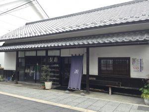 須坂市銀座通り 洋服屋さん
