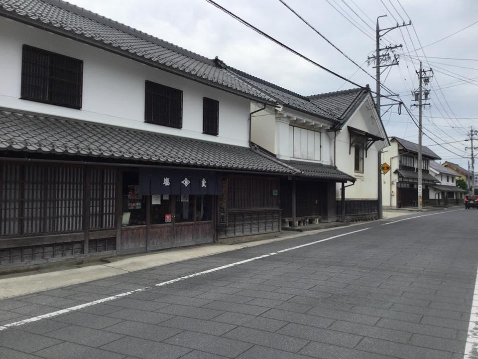 須坂へサイクリング 塩屋醸造