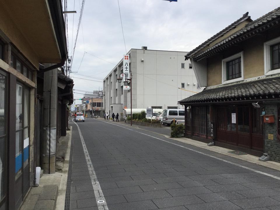 須坂へサイクリング 八十二銀行須坂支店近く