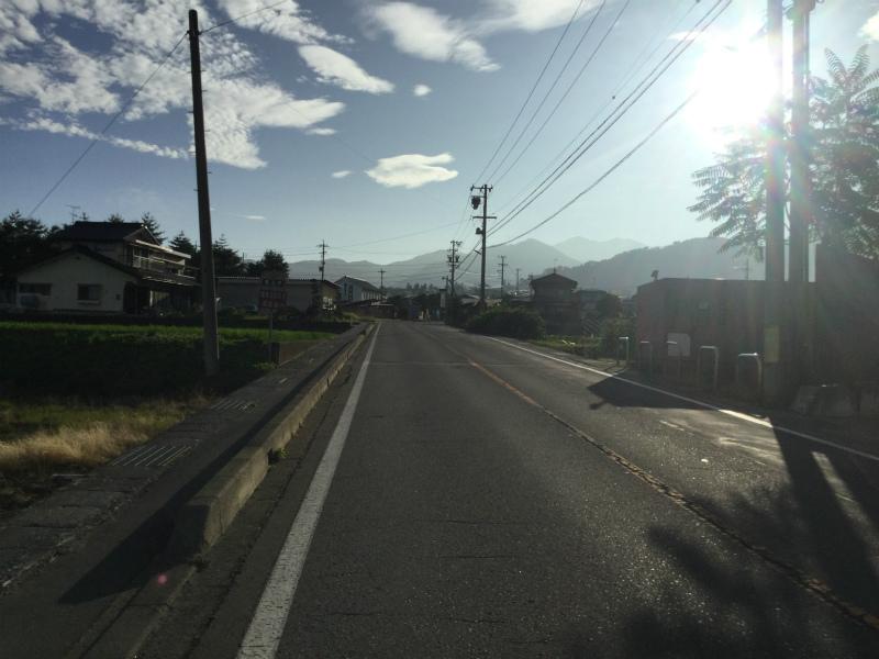 高山村サイクリング