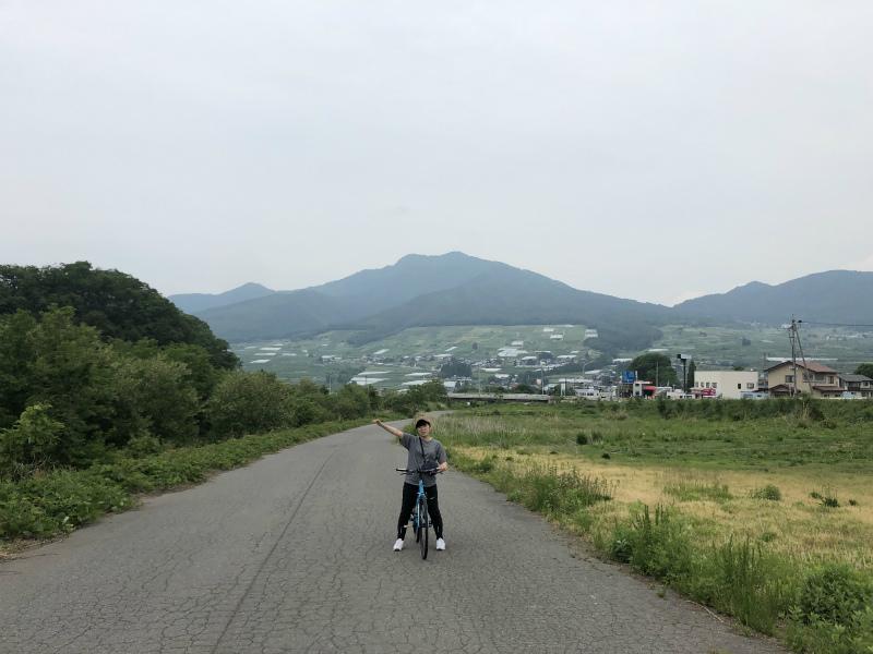 夜間瀬川河川公園サイクリング