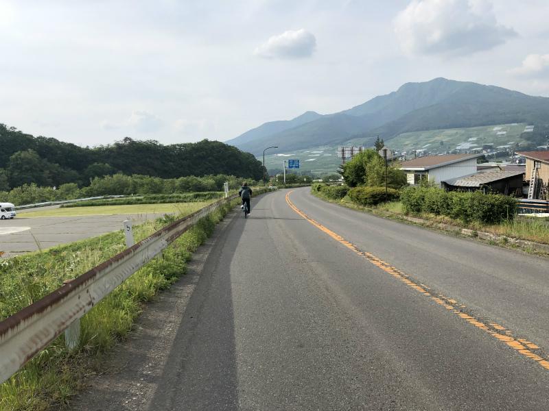 自転車デート帰り道夜間瀬橋近く